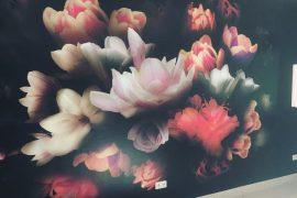 Fototapeten mit Blumen-Motiv
